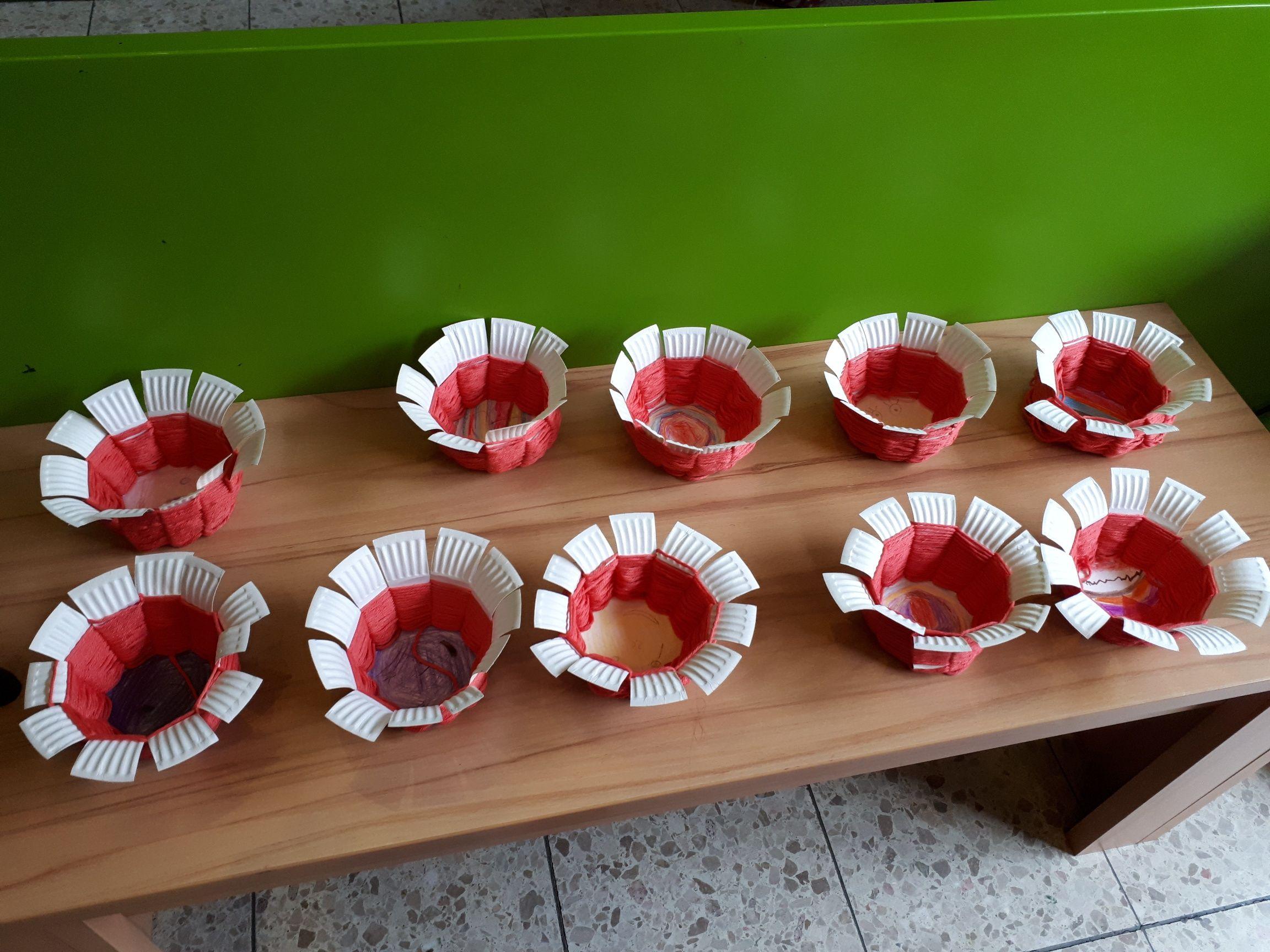 Osterkörbchen Basteln Kiwi Kinder Willkommen Ev